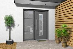 Haustüren mit Seitenteil